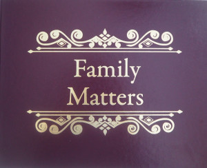 Family Matters traces one family from their immigration until present time, encompassing the history of Augusta, GA, Ft. Gordon, the U.S. Dental Corp, The USO and more.