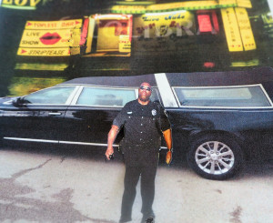 Deputy shocked to find hearse at topless bar and embalmed body inside hearse by Jennie Helderman